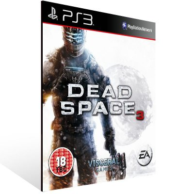 PS3 - Dead Space 3 - Digital Código 12 Dígitos Americano