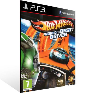 PS3 - Hot Wheels World's Best Driver - Digital Código 12 Dígitos Americano