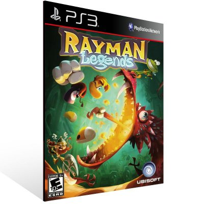 PS3 - Rayman Legends - Digital Código 12 Dígitos Americano