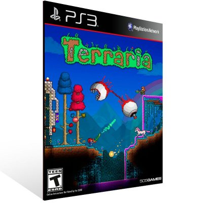 PS3 - Terraria - Digital Código 12 Dígitos Americano