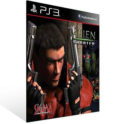 Ps3 - Alien Shooter Ultimate Bundle - Digital Código 12 Dígitos US