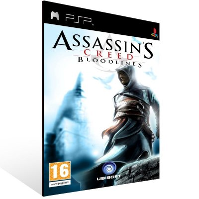 PSP - Assassin's Creed: Bloodlines - Digital Código 12 Dígitos US