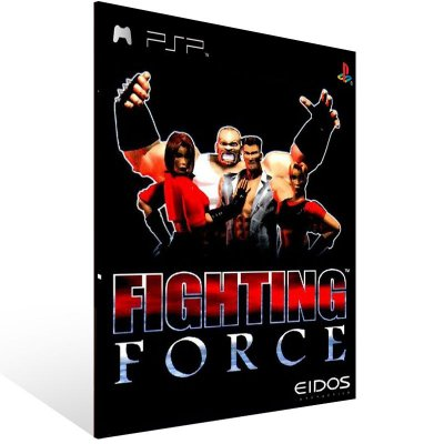 PSP - Fighting Force (PSOne Classic) - Digital Código 12 Dígitos US