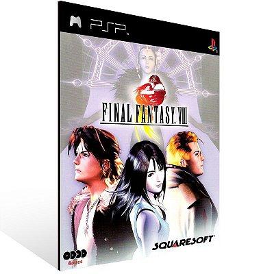 PSP - Final Fantasy 8 (PSOne Classic) - Digital Código 12 Dígitos US
