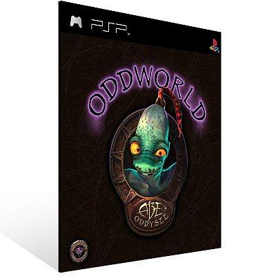 PSP - Oddworld: Abe's Oddysee (PSOne Classic) - Digital Código 12 Dígitos US