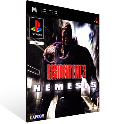 PSP - Resident Evil 3: Nemesis (PSOne Classic) - Digital Código 12 Dígitos US