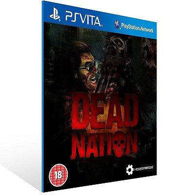 Ps Vita - Dead Nation - Digital Código 12 Dígitos US