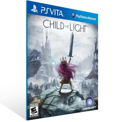 Ps Vita - Child of Light - Digital Código 12 Dígitos US
