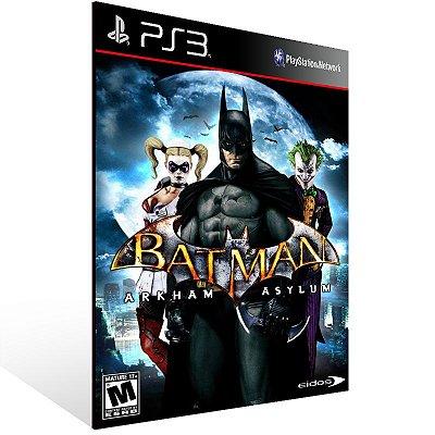 Ps3 - Batman Arkham Asylum - Digital Código 12 Dígitos US