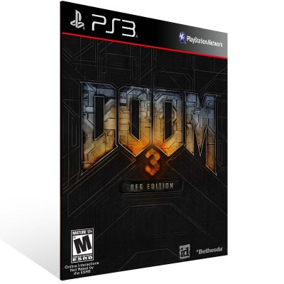 PS3 - DOOM 3 BFG Edition - Digital Código 12 Dígitos Americano