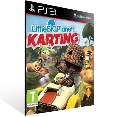 PS3 - LittleBigPlanet Karting - Digital Código 12 Dígitos Americano