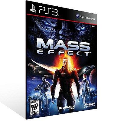 PS3 - Mass Effect - Digital Código 12 Dígitos Americano