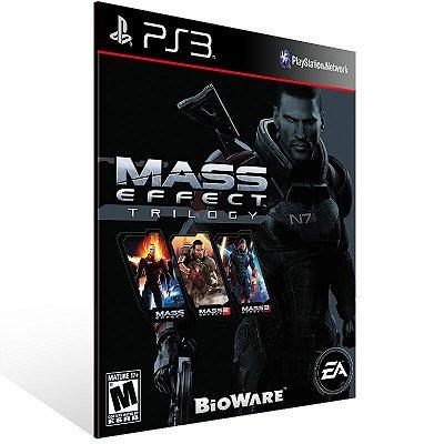 PS3 - Mass Effect Trilogy - Digital Código 12 Dígitos Americano