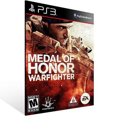 PS3 - MEDAL OF HONOR WARFIGHTER - Digital Código 12 Dígitos Americano