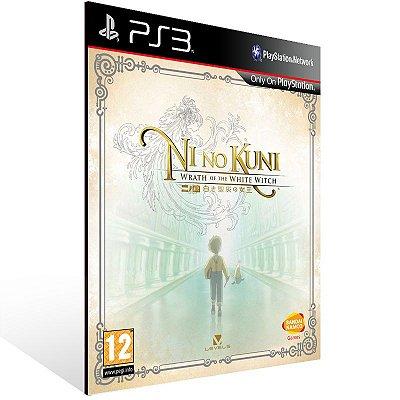 PS3 - Ni no Kuni: Wrath of the White Witch - Digital Código 12 Dígitos Americano
