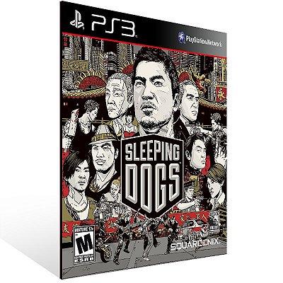 Ps3 - Sleeping Dogs Digital Edition - Digital Código 12 Dígitos US