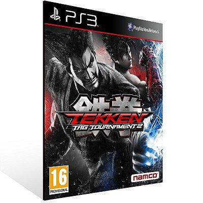 Ps3 - Tekken Tag Tournament 2 - Digital Código 12 Dígitos US