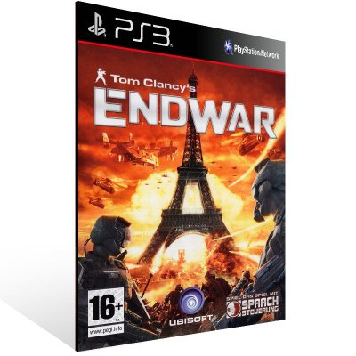 PS3 - Tom Clancy's EndWar - Digital Código 12 Dígitos Americano