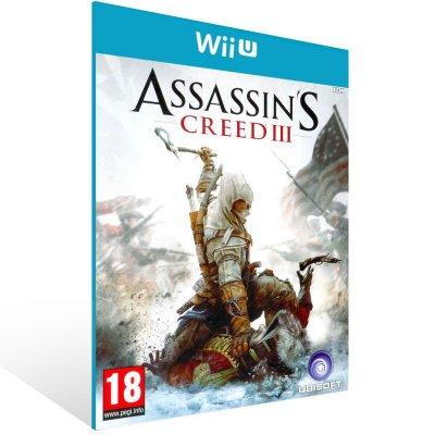 Wii U - Assassin's Creed III - Digital Código 16 Dígitos US