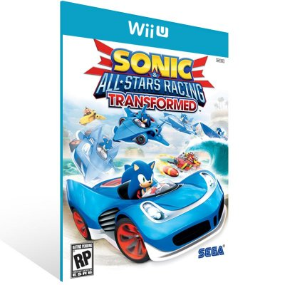 Wii U - Sonic & All-Stars Racing Transformed - Digital Código 16 Dígitos US
