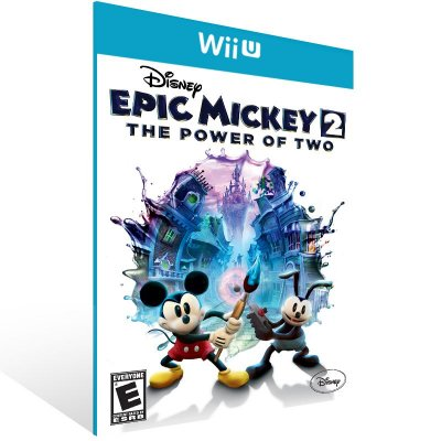 Wii U - Disney Epic Mickey 2: The Power of Two - Digital Código 16 Dígitos Americano