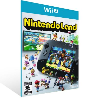 Wii U - Nintendo Land - Digital Código 16 Dígitos US