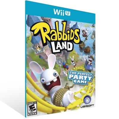 Wii U - Rabbids Land - Digital Código 16 Dígitos US