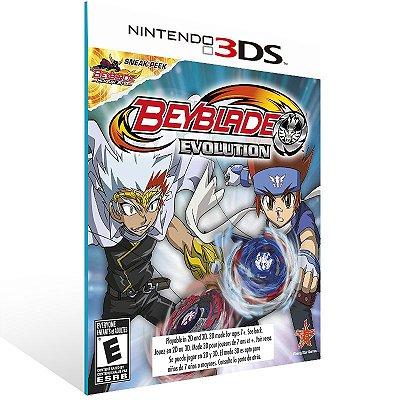 3DS - Beyblade Evolution - Digital Código 16 Dígitos US