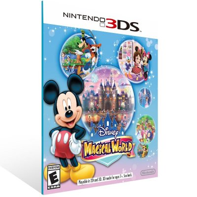 3DS - Disney Magical World - Digital Código 16 Dígitos US