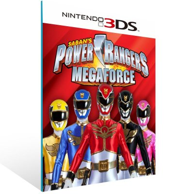 3DS - Saban Power Rangers Megaforce - Digital Código 16 Dígitos US