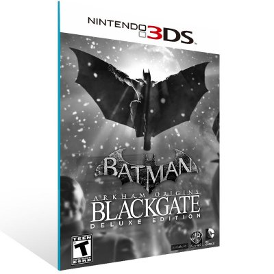 3DS - Batman Arkham Origins Blackgate - Digital Código 16 Dígitos US