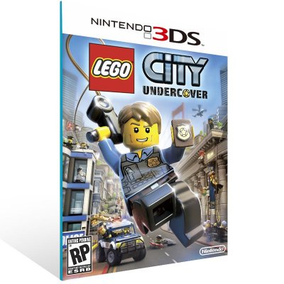 3DS - Lego City Undercover: The Chase Begins - Digital Código 16 Dígitos US