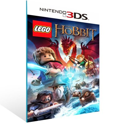 3DS - LEGO The Hobbit - Digital Código 16 Dígitos US
