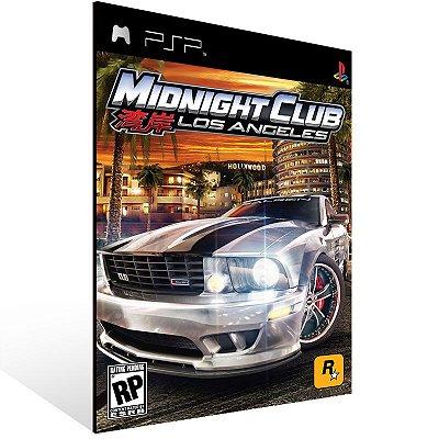 PSP - Midnight Club: L.A. Remix - Digital Código 12 Dígitos US