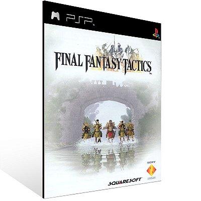 PSP - Final Fantasy Tactics (PSOne Classic) - Digital Código 12 Dígitos US