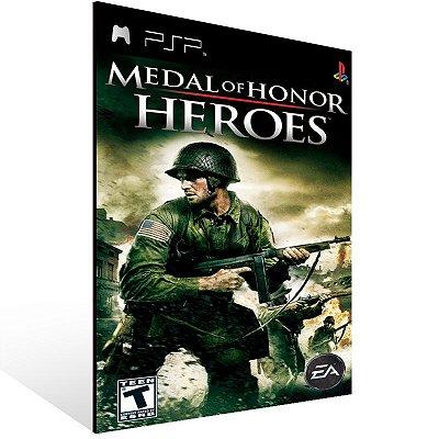 Psp - Medal of Honor Heroes - Digital Código 12 Dígitos US