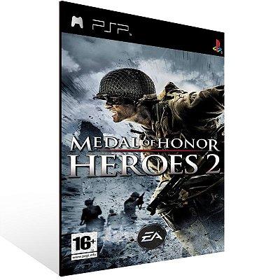 Psp - Medal of Honor Heroes 2 - Digital Código 12 Dígitos US