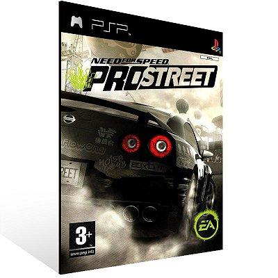 PSP - Need For Speed ProStreet - Digital Código 12 Dígitos US
