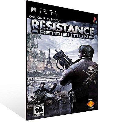 PSP - Resistance: Retribution - Digital Código 12 Dígitos US