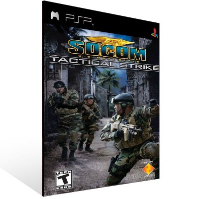 Psp - SOCOM: U.S. Navy SEALs Tactical Strike - Digital Código 12 Dígitos US