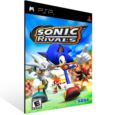 Psp - Sonic Rivals - Digital Código 12 Dígitos US