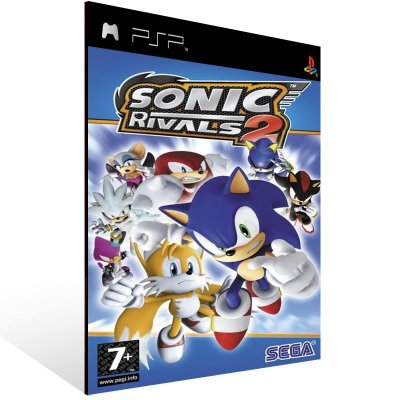 Psp - Sonic Rivals 2 - Digital Código 12 Dígitos US