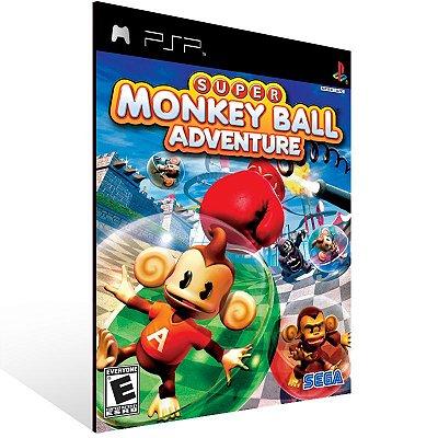 Psp - Super Monkey Ball Adventure - Digital Código 12 Dígitos US