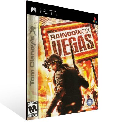 Psp - Tom Clancy's Rainbow Six: Vegas - Digital Código 12 Dígitos US