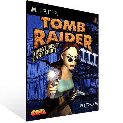 Psp - Tomb Raider III (PSOne Classic) - Digital Código 12 Dígitos US