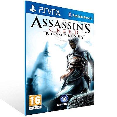 Ps Vita - Assassin's Creed: Bloodlines - Digital Código 12 Dígitos US