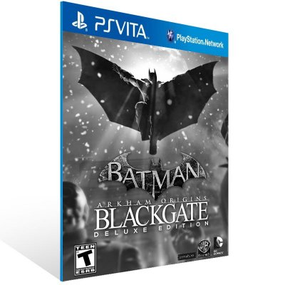 Ps Vita - Batman: Arkham Origins Blackgate - Digital Código 12 Dígitos US