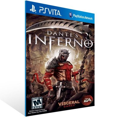 Ps Vita - Dante's Inferno - Digital Código 12 Dígitos US