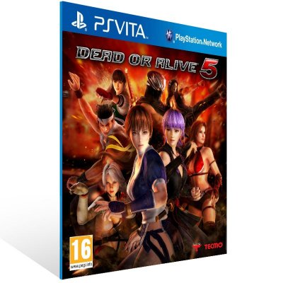 Ps Vita - Dead or Alive 5 Plus - Digital Código 12 Dígitos US