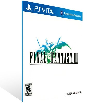 Ps Vita - Final Fantasy III - Digital Código 12 Dígitos US